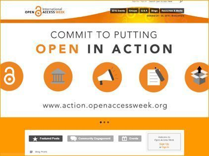 Setmana internacional del moviment Open Access